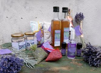 unsere Lavendelprodukte